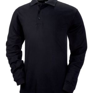 Men's ClimaLite® Tour Piqué Long-Sleeve Polo Thumbnail