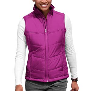Ladies Puffy Vest Thumbnail
