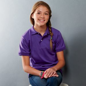 Youth SpotShield™ Jersey Polo Thumbnail