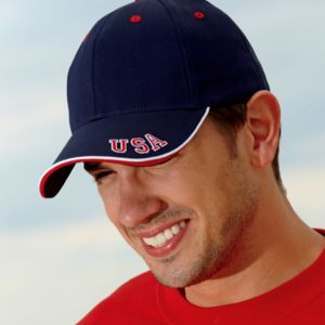 Cotton Twill National Cap Thumbnail