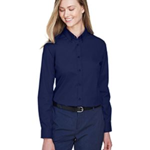 Ladies' Operate Long-Sleeve Twill Shirt Thumbnail