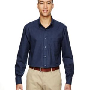 Men's Paramount Wrinkle-Resistant Cotton Blend Twill Checkered Shirt Thumbnail
