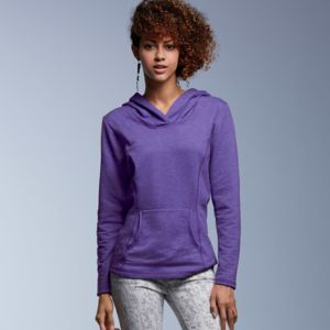 Ladies' Hooded French Terry Fleece Thumbnail