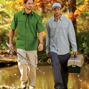 Adult Catch Short-Sleeve Fishing Shirt Thumbnail
