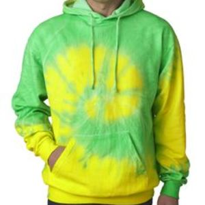 Adult Fluorescent Tie-Dyed Pullover Hoodie Thumbnail