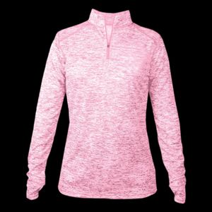 Ladies' Blend 1/4-Zip Pullover Thumbnail