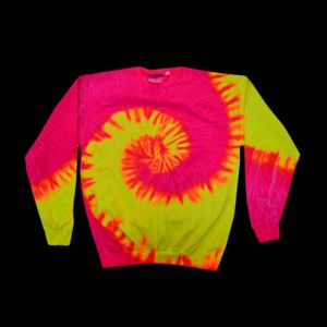 Adult Pigment-Dyed Tie-Dyed Fleece Thumbnail