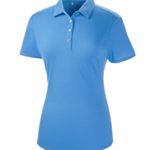 Ladies' Short-Sleeve Solid Polo Thumbnail