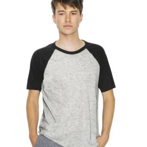 Unisex Poly/Cotton Short Sleeve Raglan T-Shirt Thumbnail