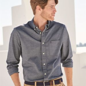Capote End-on-End Chambray Shirt Thumbnail